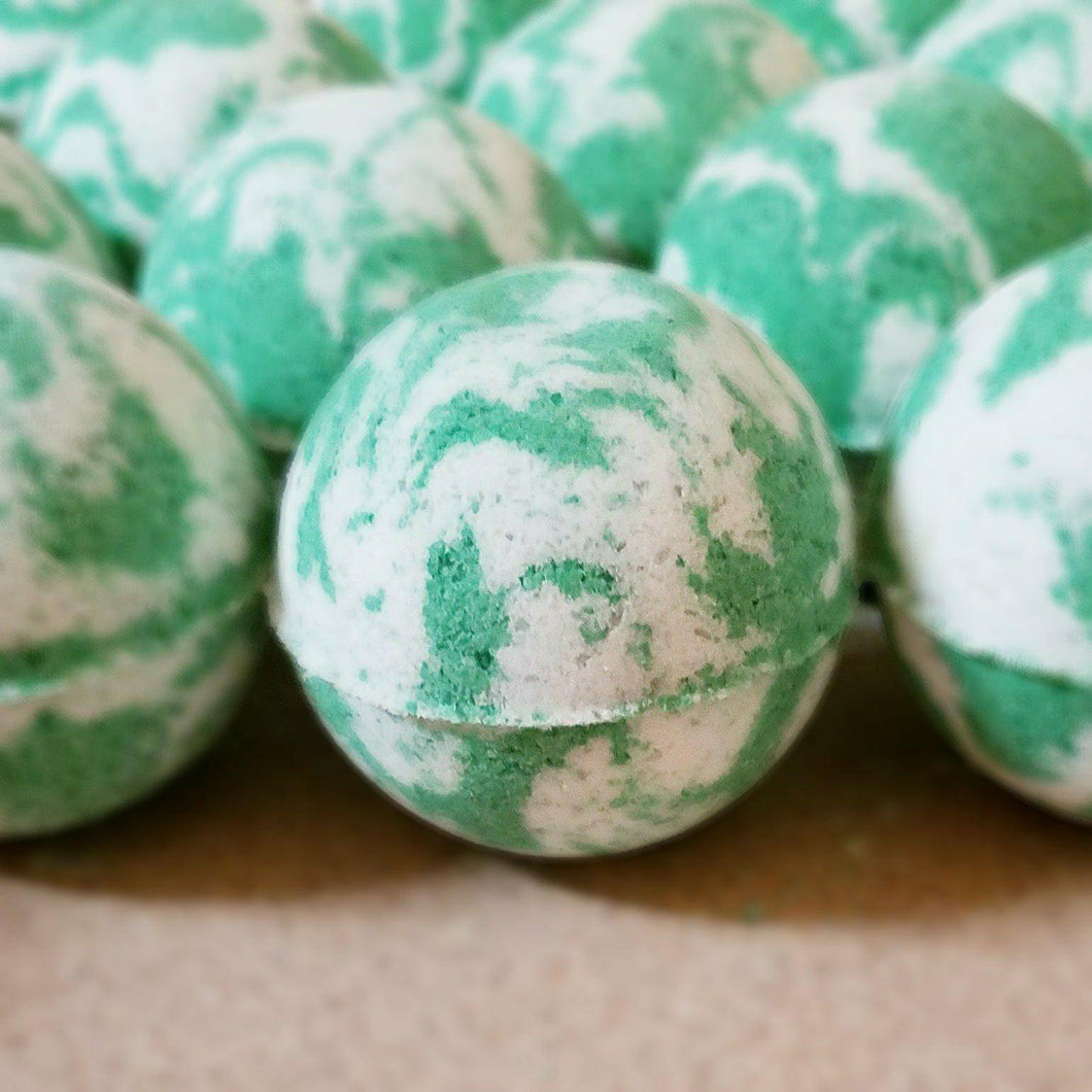 Just Breathe Bath Bomb - Two Moms Bath Bombs