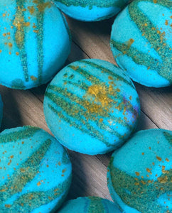 Baja Cactus Blossom dupe Bath Bomb - Two Moms Bath Bombs