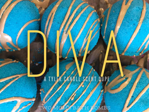 Diva Bath Bomb - Two Moms Bath Bombs