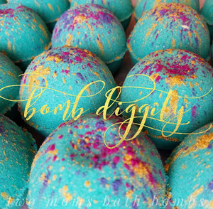 Bomb Diggity Bath Bomb - Two Moms Bath Bombs