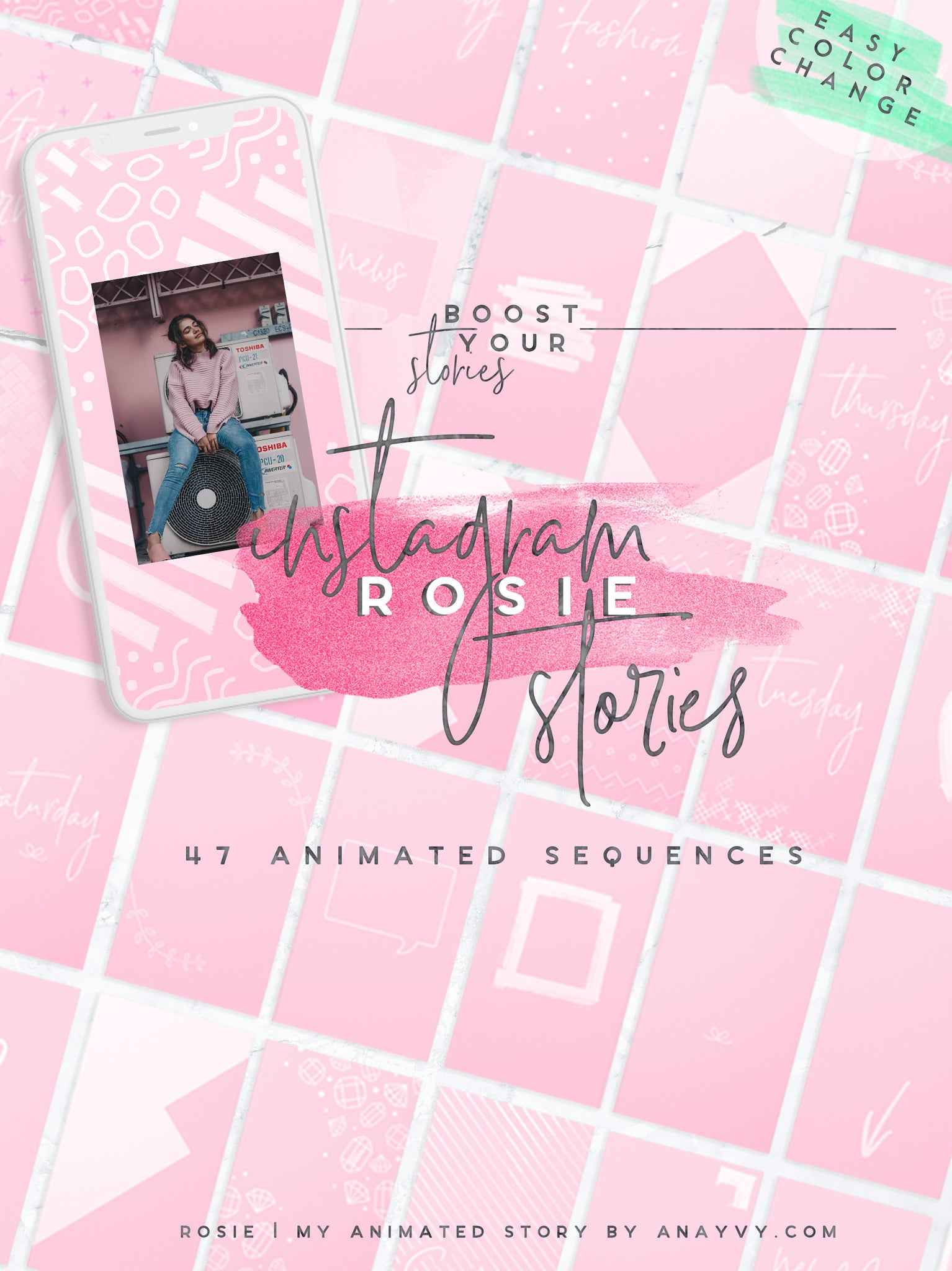 Animated Instagram | Rosie - ANA & YVY