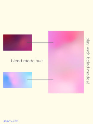 Animated Gradients | Grain Texture & Vivid Color - ANA & YVY