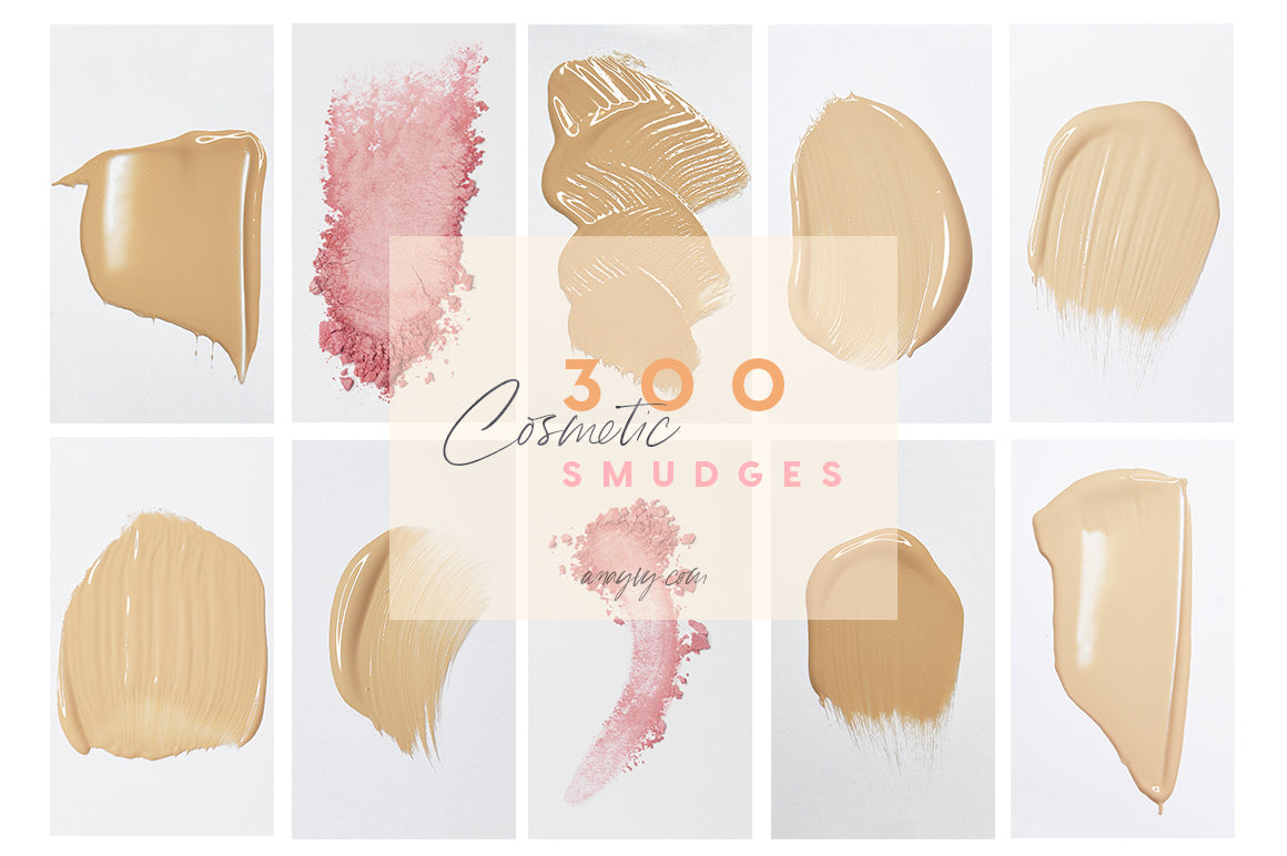Stock Collection | Cosmetic Smudges - ANA & YVY
