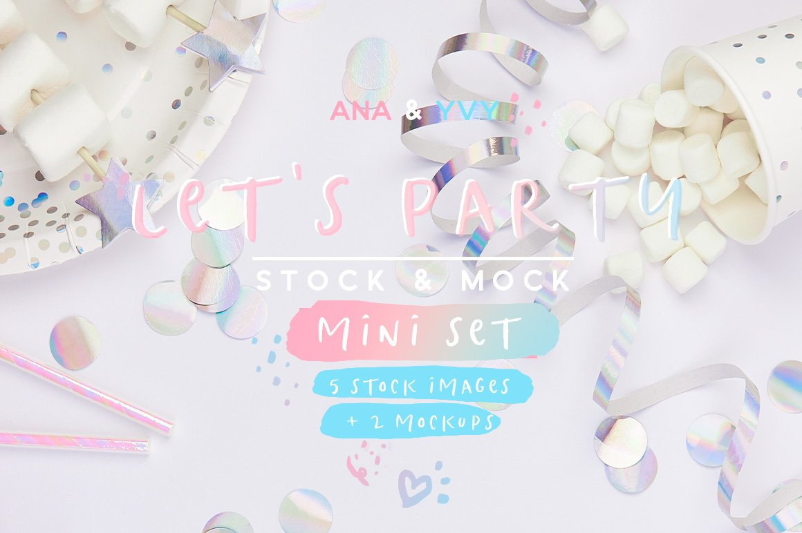 Stock Collection | Let's Party - ANA & YVY