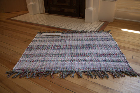 Flannel Rug with Fringe