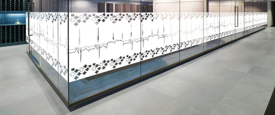 Modernize Medical Centers Through the Implementation of Designed Film's Medical & Biophilia Privacy Window Films