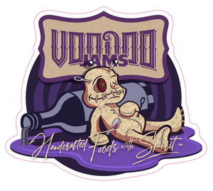 "3"" VooDoo Jams Sticker"