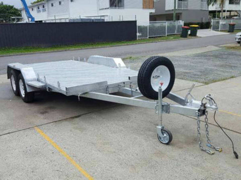 2 Ton Car Trailer Dual Axle