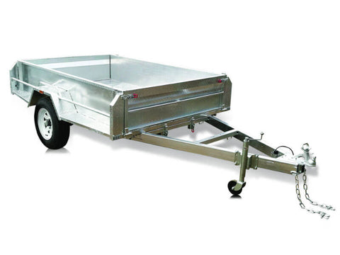 8 x 5 Single Axle High Side Trailer