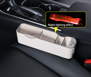 Car atmosphere light storage box-65%OFF