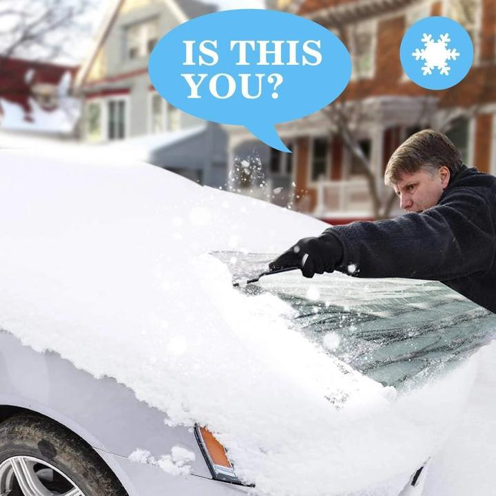 ( 50% OFF )Hot Selling!!!Premium Windshield Snow Cover Sunshade