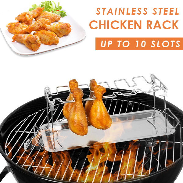 Stainless Steel Roasted Chicken Rack