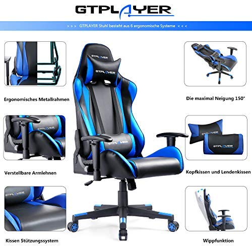 GTPLAYER Gaming Stuhl