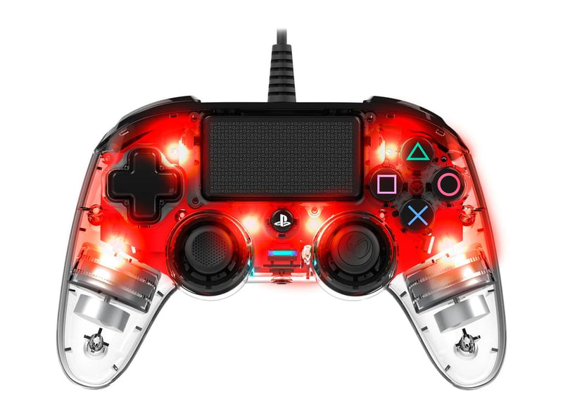 NACON Controller Light Edition für PS4, Red