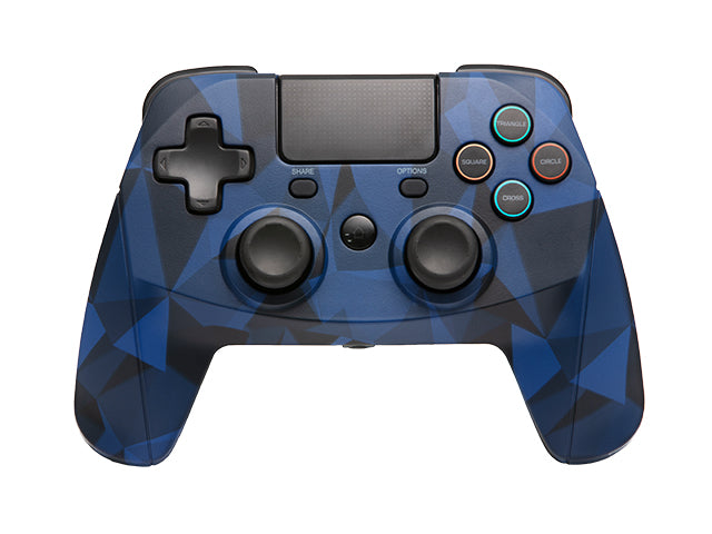 PS4 GamePad 4 S Wireless (Camo Blue) - snakebyte