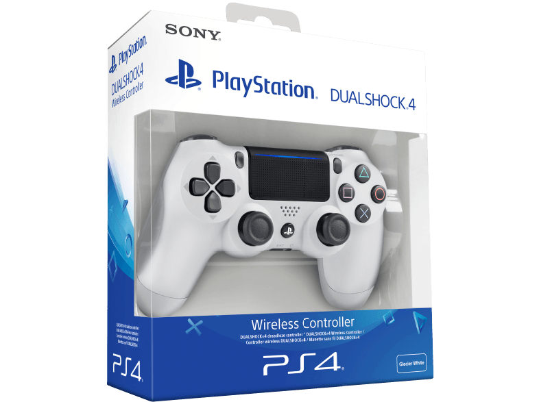SONY PlayStation 4 Wireless Dualshock 4 Redesigned Controller, Weiß