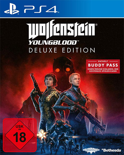 Wolfenstein 2 Youngblood Deluxe Edition PS4
