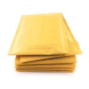 100 Pack - Gold Envelopes A5 Bubble - 80GSM