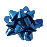 100 Small Gift Wrap Star Bow - Assorted Colours (Gloss)