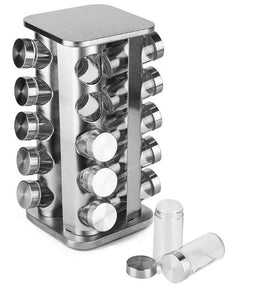 20 Jar Rotating Spice Rack (square)