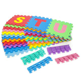 36 Piece Alphabet and Numbers Foam Play Mat - Medium
