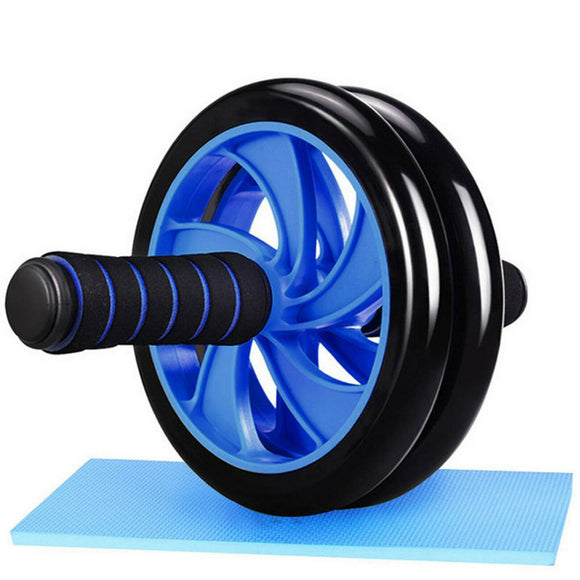 ABS Exercise Two Wheel Roller (Blue)