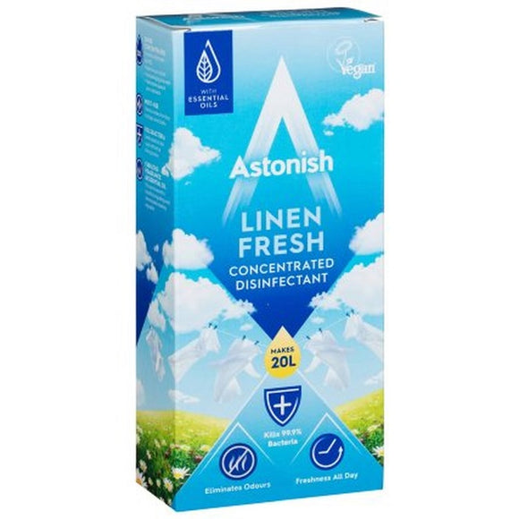 Astonish Linen Fresh Concentrate Disinfectant Liquid 500ml