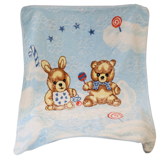 Good Baby - Baby Blanket (Blue)