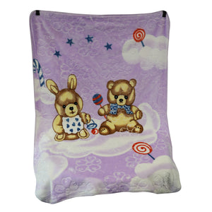 Good Baby - Baby Blanket (Purple)