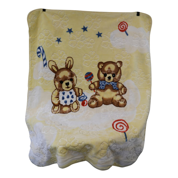 Good Baby - Baby Blanket (Yellow)