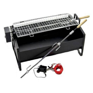 BBQ Grill - 2 Way Rotating Rotisserie with Motor and Fan (Small)
