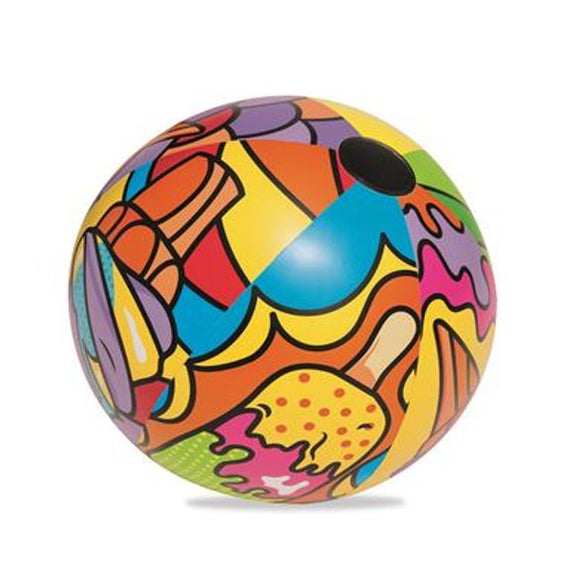 Bestway Inflatable Beach Ball (Art Collection)