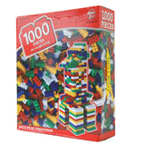 1,000 Piece Assorted Building Bricks