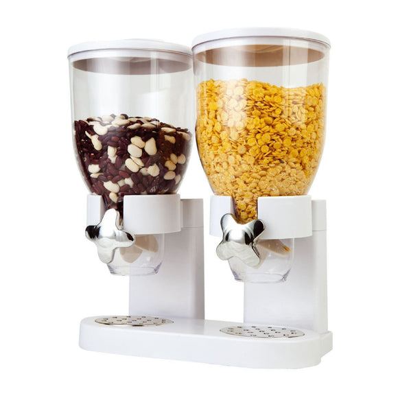 Fresh & Easy - Double Cereal Dispenser (White)