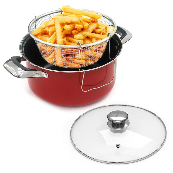 Chip Frying Pan Set 24cm