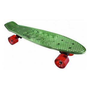 "Chrome Skateboard Cruiser 22"" (Green)"