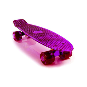 "Chrome Skateboard Cruiser 22"" (Pink)"