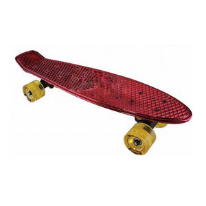 Chrome Skateboard (Red)