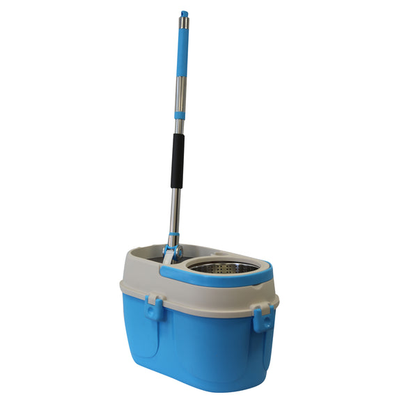 Mumamop Floor Mop and Bucket Set (Blue)
