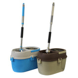 Mumamop Floor Mop and Bucket Set (Brown)