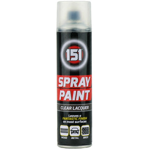 151 Clear Lacquer Spray Paint 250ml