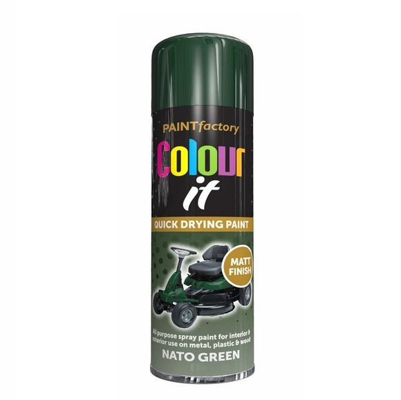 Colour It Nato Green Matt Spray Paint 250ml