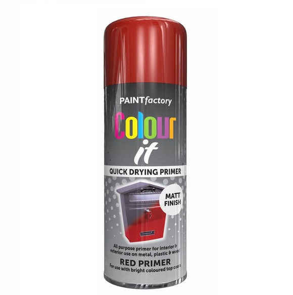 Colour It Red Primer Spray Paint 400ml