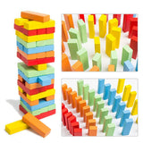 51 Piece Wooden Tumbling Jenga Tower Block (Medium)