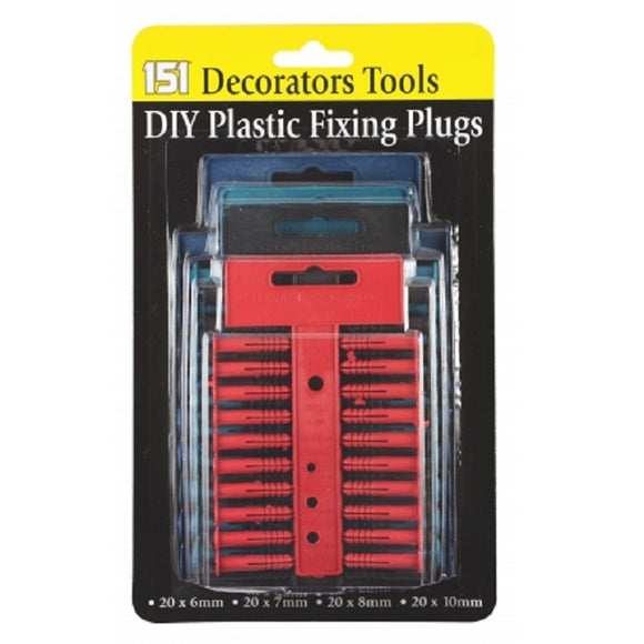 151 DIY Fixing Wall Plugs