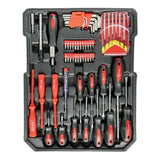 718 Piece Aluminium Mechanic Case Tool Kit and Trolley