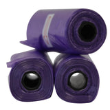 Dog Waste Bag (Purple) - Pack of 12