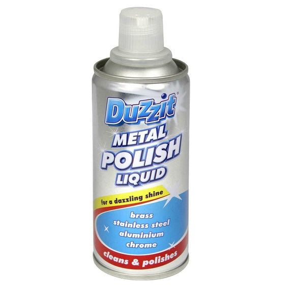 Duzzit Liquid Metal Polish 120ML