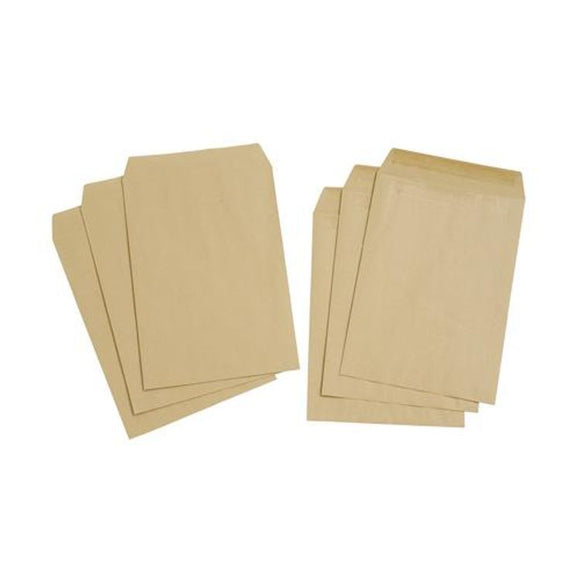 Brown A4 Envelopes Brown 50pcs