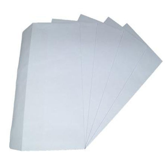 White DL Envelopes 50pcs